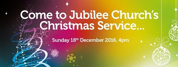 Christmas service invitation